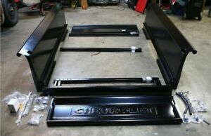 Complete Bed Kit Chevy 1937 1938 Chevrolet Short Bed Stepside Truck Wood