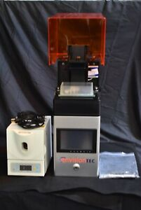 Lq box Dental Curing Unit W Envisiontec Micro Plus Xl Desktop 3d Printer