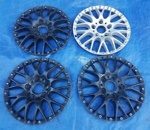 Bmw E39 528i 530i 540i M5 Oem Bbs Rs740 Style 42 17x8 Wheel Centers 4 In Set