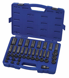 Carlyle Tools By Napa 61 0304 39pc 1 2 Master Impact Socket Set Metric 9 30mm