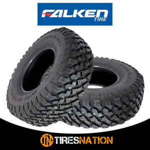 2 Falken Wild Peak M t Lt265 75r16 E 123 120q Toughest All Terrain Mud Tires