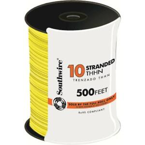 Southwire Electrical Wire 500 Ft 10 gauge Uv Resistant Waterproof Copper