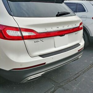 Rear Bumper Protective Molding Scratch Guard For Lincoln Mkx 2016 2018