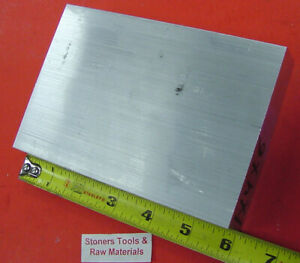 3 4 X 5 Aluminum 6061 Flat Bar 6 Long Solid T6511 Extruded Plate Mill Stock