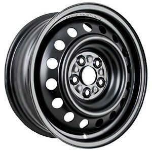 New 15x6 Black Steel Wheel For 2003 2007 Toyota Corolla Sedan 560 69423