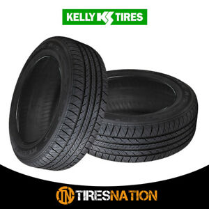 2 New Kelly Edge A S 205 55r16 91h All Season Traction Tire