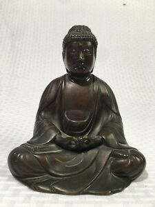 Antique Chinese Tibet Bronze Buddha Statue Antiquities Outstanding Quality Old