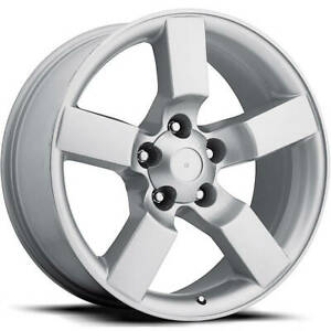 4 20x9 Silver Wheel Factory Reproductions Fr50 Ford Lightning Replica Wheel