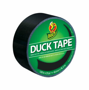 Keeney Manufacturing Duct Tape 20yd Black