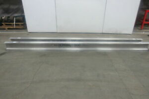Gorbel Monorail 13 Aluminum Enclosed Runway Beam Track 500lb Cap Lot Of 2