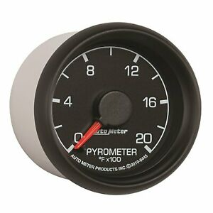 Auto Meter 8445 Factory Match 2 1 16 0 2000 Degree Fahrenheit Pyrometer Kit