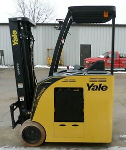 Yale Model Esc035ac 2012 3500 Lbs Capacity Great Electric Docker Forklift