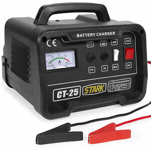 12 24 Volt Battery Charger Automotive Car Boat Engine Starter Booster 10 25 Amp
