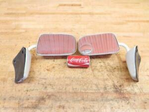 Nice Set Of Vintage 1980 S Chevy Gmc Pickup Truck White Side Mirrors
