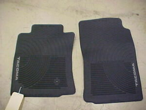 Oem Toyota All Weather Tacoma Front Floor Mats Fits Select 2005 2011 2 Pc Set