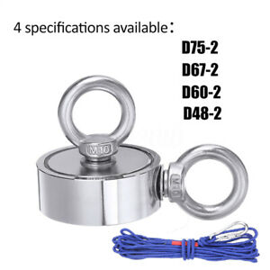 Strong Salvage Magnet Pot Fishing Magnet Deep Sea Magnetic Hook Neodymium
