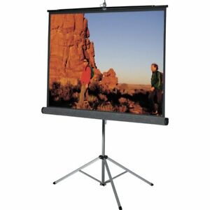 Da lite 69905 Picture King Portable Tripod Front Projection Screen 69 X 69