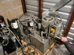 Mp Systems Series 510 Power Supply W Heat Exchanger 2 Hydraulic Pumps