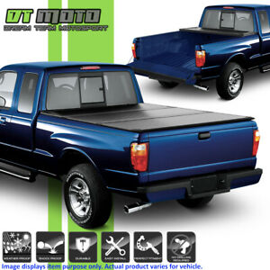 Hard Tri Fold Tonneau Cover For 1983 2011 Ford Ranger 6 Ft 72 Inch Short Bed
