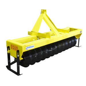 3 Point Cultipacker 72 Inch Wide For Category 1 Tractors Quick Hitch Compatible
