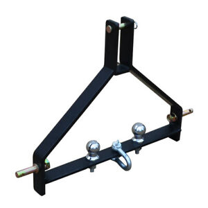 Category 1 3 point Tractor Drawbar Trailer Hitch Quick Hitch Compatible