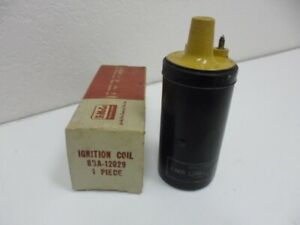 Nos 8ba 120296 Volt Ignition Coil 1949 Thru 55 Ford Mercury Lincoln Truck
