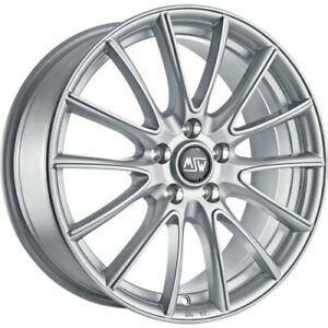 Msw 86 Summer Wheels Smart 453 Fortwo Forfour Renault Twingo Aluminium