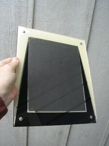 Vintage Art Deco Reverse Painted Glass Picture Frame 9 10 Condition Vg C 1928