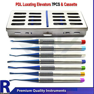 Dental Pdl Elevators Set Periodontal Luxating Periotomes Precise Tips