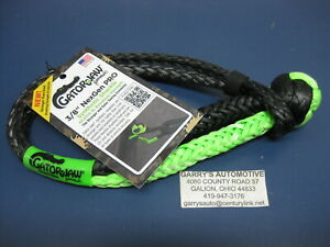 Bubba Rope Gator Jaw Soft Shackle Plasma Double Braid Tow Recovery Nexgen Pro3 8