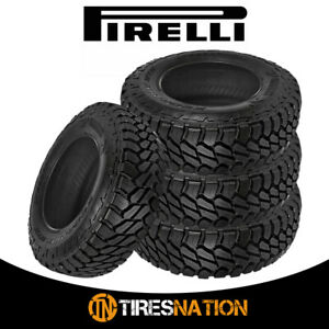 4 Pirelli Scorpion Mtr 255 70r16 Off Road Mud Tires 108q 6p C Mt
