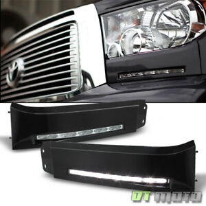 For 2007 2013 Toyota Tundra Led Bumper Built In Drl Fog Light Driving Lamp Xsp X