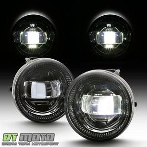 For 05 11 Tacoma 07 13 Tundra 08 18 Sequoia Cree Led Bumper Fog Lights Lamps