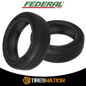 2 New Federal Formoza Gio P165 50r15 73v All Season Traction Tires