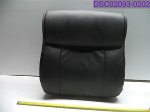 Back Only Black Leather Padded Office Chair Back Rest 22 Tall X 20 Wide