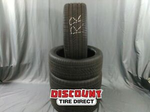 4 Used 245 40 19 Continental Pure Contact Ls 40r R19 Tires 36671