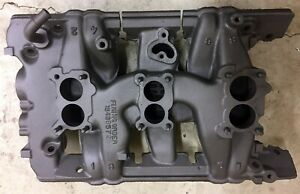 1961 64 Pontiac Tripower Intake Manifold Used Dated 541690 D10