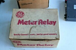 General Electric Ge 50 197310drzz 72 0 100 Amperes Meter Relay W control Unit