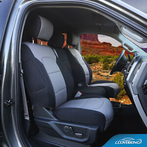 Coverking Genuine Neoprene Front Rear Tailored Seat Covers For Toyota Tundra