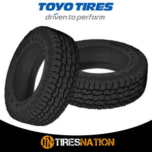 2 New Toyo Open Country A t Ii 255 70 16 109s All terrain Tire
