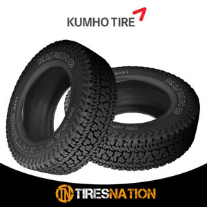 2 New Kumho At51 Road Venture At 255 70 16 109t All terrain Handling Tire