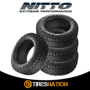 4 New Nitto Ridge Grappler 285 55 22 124 121q All Terrain Tire