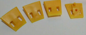 4 Piece John Bean Snap On Tire Changer Protective Jaw Inserts Yellow
