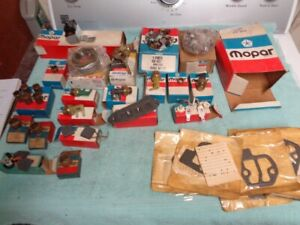Nos New Vintage Mopar Dodge Plymouth Parts Lot Switches Gaskets Bushings Etc