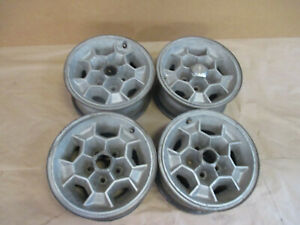 71 76 Pontiac Firebird Trans Am Wheel Polycast Honeycomb 15x7 Set Of 4 0205 99