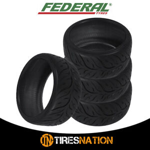 4 New Federal 595rs Rr 205 50zr15 Tires