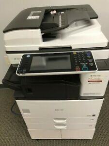 Ricoh 3353 Black And White Copier Very Low Usage