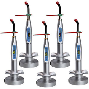 2021 Dental 10w Wireless Cordless Led Curing Light Lamp 2000mw Tool Us Fast Ship