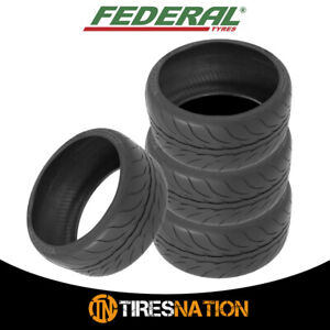 4 New Federal 595rs Pro 205 50zr15 89w Tires