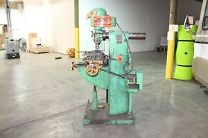 Southbend Vertical Metal Mill Model Mil 3218 1hp 3 Phase Fairbanks